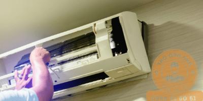 Dùng-vít-4-cạnh-để-tháo-ốc-cố-định-vỏ-máy-trên-dàn-lạnh