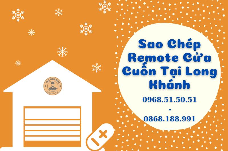 Sao Chép Remote Cửa Cuốn Tại Long Khánh 0968515051